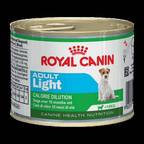 Royal Canin Adult Light Mousse Консервы для взрослых собак, Мусс