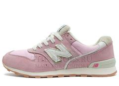 Кроссовки Мужские New Balance 996 Pink White Gold