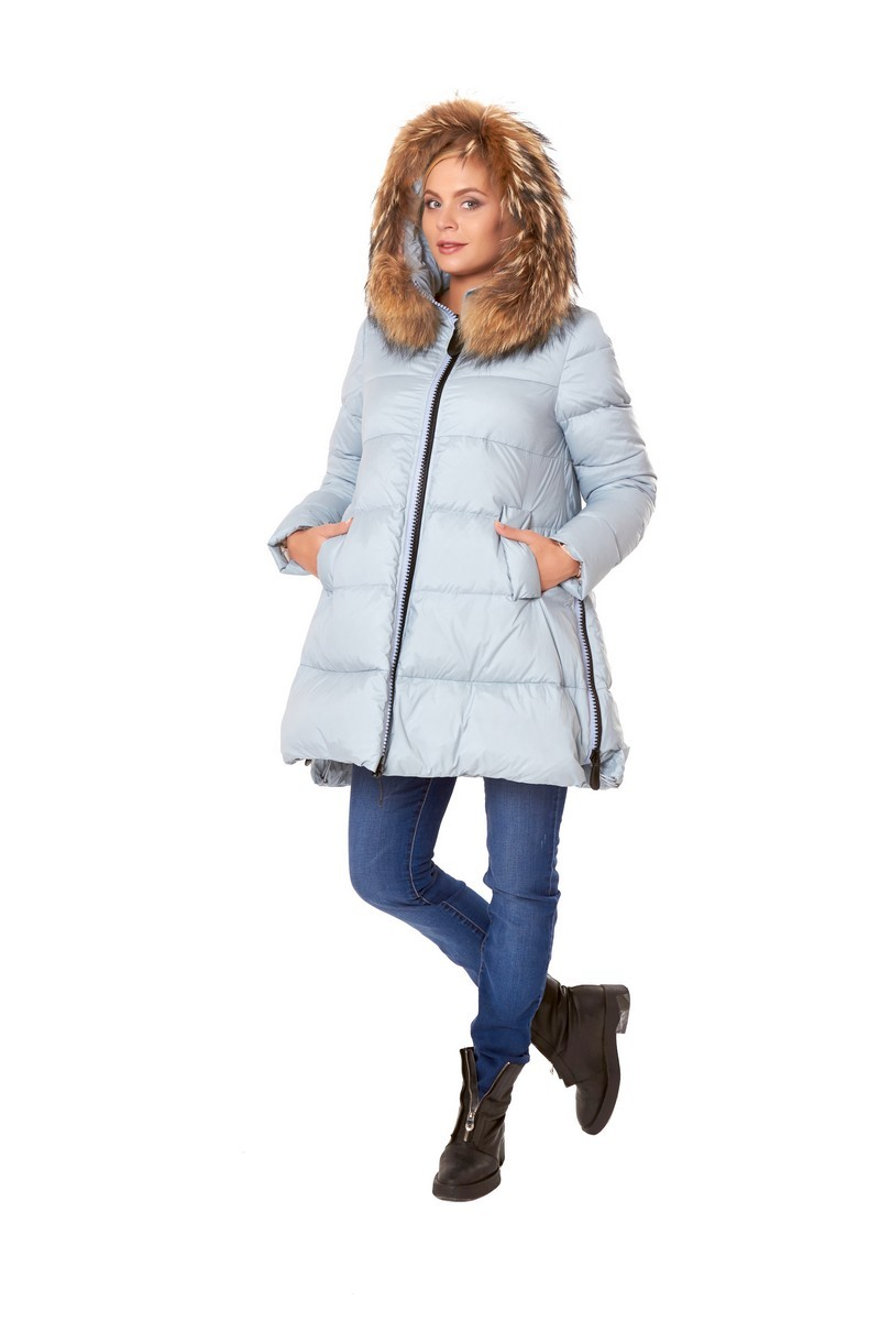 Куртка для беременных 07997 голубой