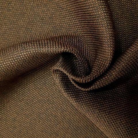 Блэкаут рогожка для штор коричневая. Ш-280 см. Арт. Т-818-7