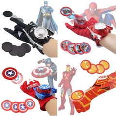 Перчатки супергероев стреляющие дисками — Gloves superheroes