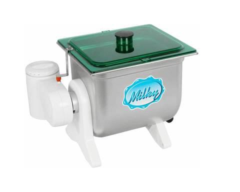 Маслобойка сливочного масла электрическая Milky FJ 10 литров, Австрия, нержавеющая сталь. Фото