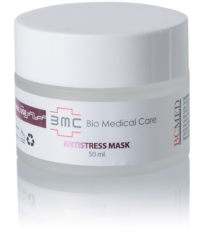 Маска Антистресс, восстанавливает защитную мантию кожи и уровень влаги, устраняет чувствительность и раздражения кожи Antistress Mask, 50 мл