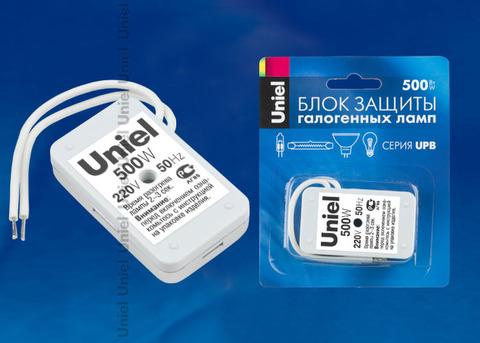 UPB-500W-SL Блок защиты для галогенных ламп. Блистерная упаковка.