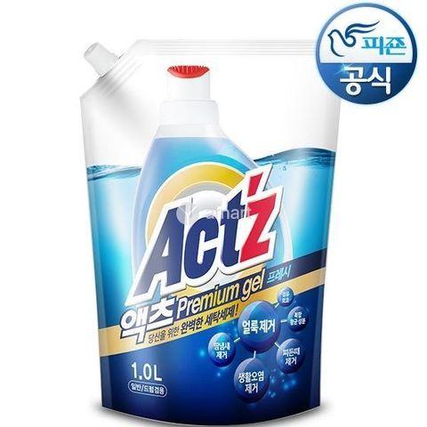 Концентрированный гель для стирки с ароматом мяты Pigeon Act'z Premium Gel 1 л