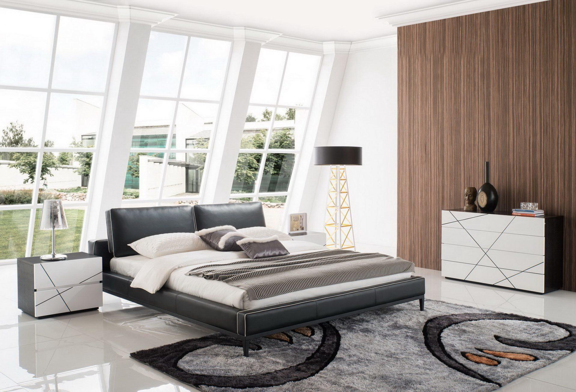 Кровать ESF 1150 черная