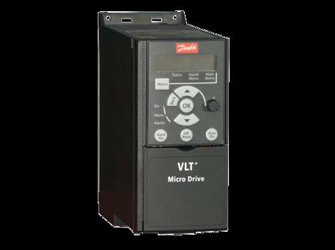 Частотный преобразователь Danfoss VLT Micro Drive FC 51 (2,2 кВт, 380В, 3 ф.) 132F0022