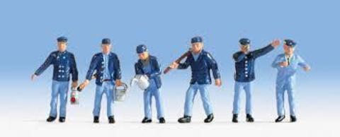 Железнодорожные рабочие - 6 чел, (H0)