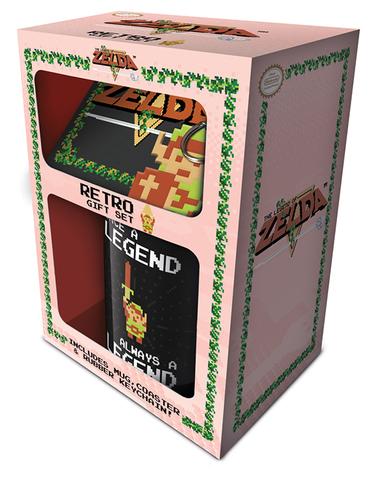 Набор Pyramid: The Legend of Zelda (Retro) Кружка+Поставки+Брелок