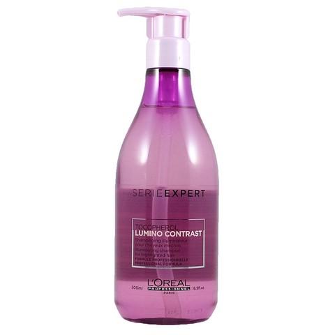 Шампунь-сияние для мелированных волос, L'Оreal Serie Expert Lumino Contrast Shampoo, 500 мл.