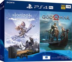Sony PlayStation 4 Pro Black 1Tб (CUH-7208B) + диск Horizon Zero Dawn CE + диск God of War + второй DualShok 4