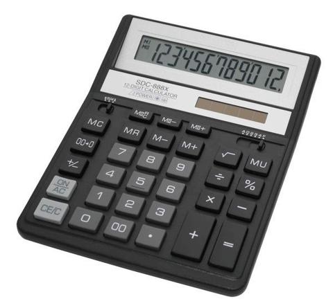 Калькулятор Citizen SDC-XBK