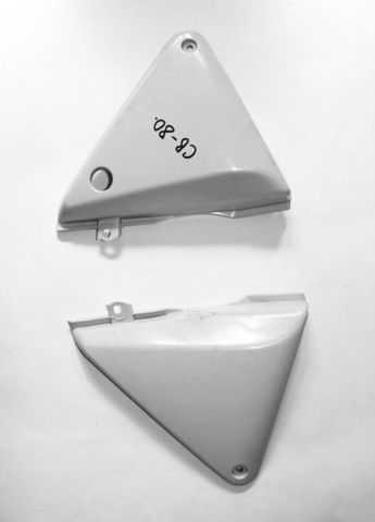 Крышки боковые пластиковые для Honda CB 400 до VTEC