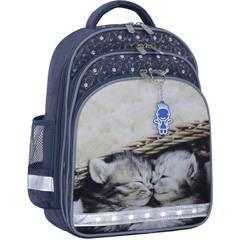 Рюкзак школьный Bagland Mouse 321 серый 165 (0051370)