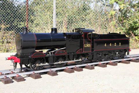 Garden Rail Паровоз L.M.S 4F на колею 12,7 см, угольный