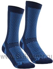 Термоноски утеплённые Craft Warm XC тёмно-синие (2 пары)