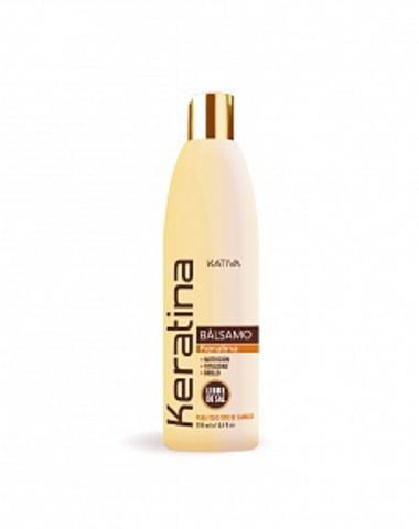 Кератиновый укрепляющий бальзам-кондиционер для всех типов волос KERATINA, 250 мл., Kativa