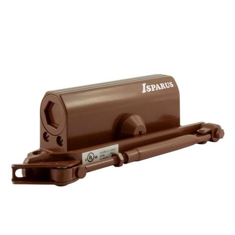 Дверной доводчик ISP 430 (коричневый) 50 - 100 кг