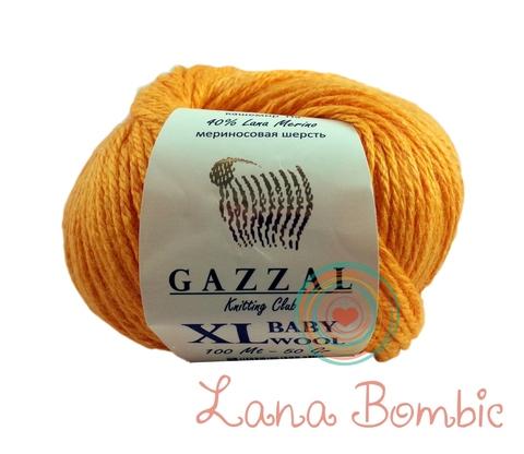 Пряжа Gazzal Baby Wool XL оранжевый 837