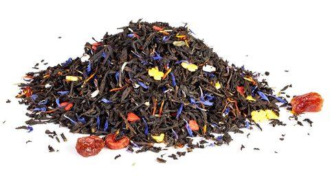 С днём Светлой Пасхи Чай Gutenberg черный ароматизированный 100 гр