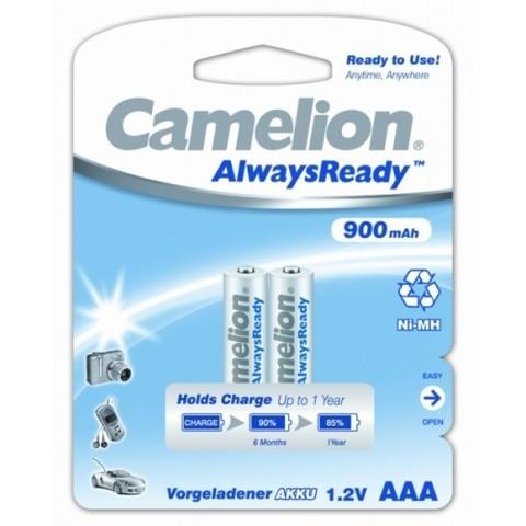 Аккумуляторы CAMELION R 03/2bl 900 mAh Ni-MH (Always Ready)