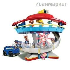 Патрулелет-Патрулевоз-База-Набор 6 щенков