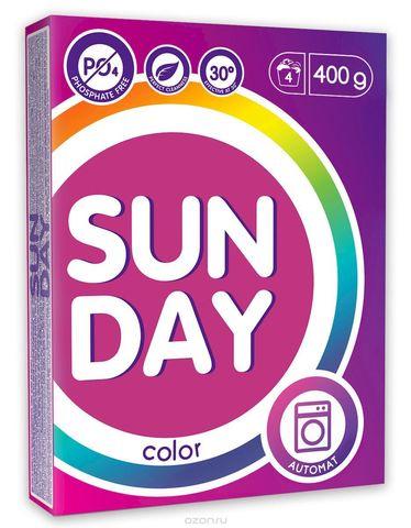 Сонца Sunday Стиральный порошок для цветного  Автомат 400 г