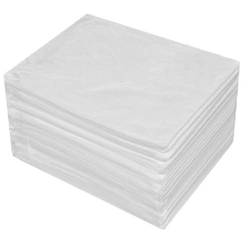 Салфетки для солярия одноразовые  40*40 смс, 20гр/м2, 100 шт. белые