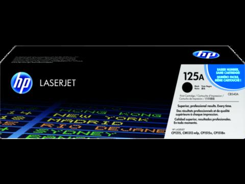 Оригинальный картридж HP CB540A (№125A), чёрный