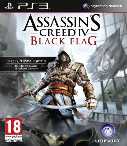 PS3 Assassin's Creed IV: Черный Флаг (английская версия)