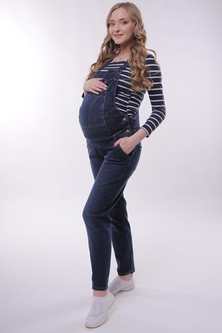 Комбинезон для беременных 10743 синий