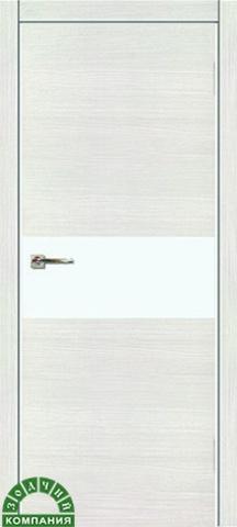 Дверь Мегаполис Г1 (лайт, глухая наношпон), фабрика Зодчий