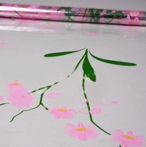 Пленка цветная Орхидея (размер:70см х 7м) Цвет:розовый