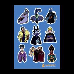Набор стикеров Disney Evil