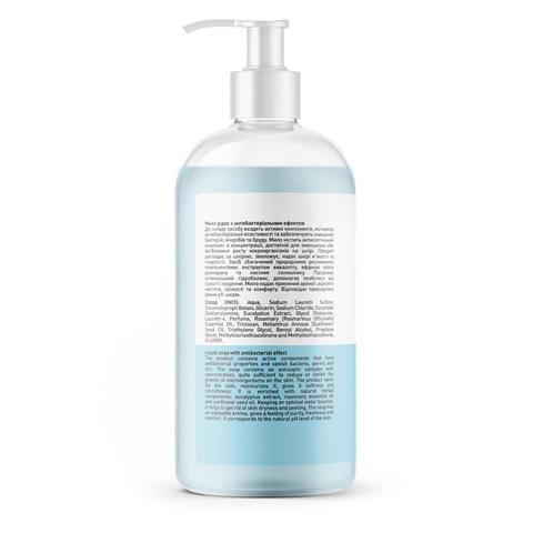 Жидкое мыло с антибактериальным эффектом Эвкалипт-Розмарин Touch Protect 500 мл (3)