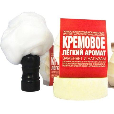 Мыло ТДС Для бритья. Кремовое: лёгкий аромат 60 гр