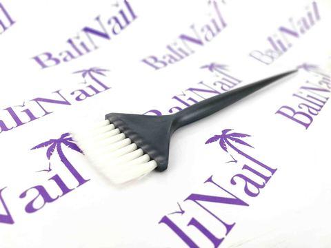 Кисть для окрашивания волос (серая)