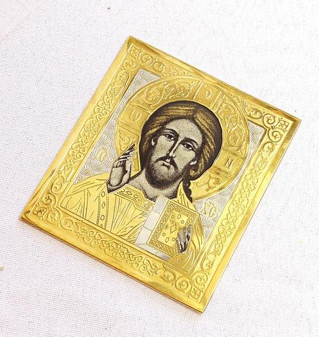 Икона Иисуса карманная (малая)