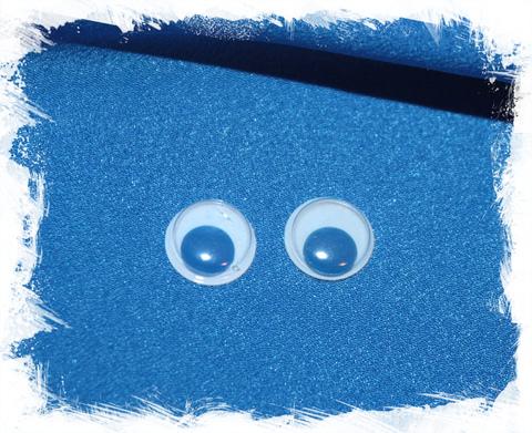 Глаза синие