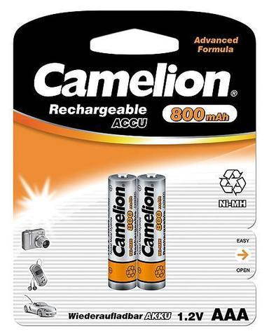 Аккумуляторы CAMELION R 03/2bl 800 mAh Ni-MH