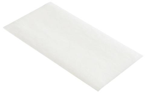 Бумага 20 х 9 см для мелирования серебристого цвета