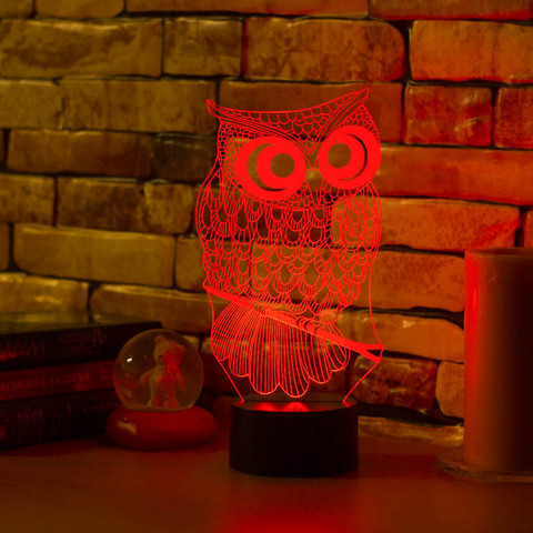 Art-Lamps Сова