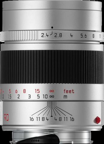Leica Summarit-M 90mm f/2.4 Silver