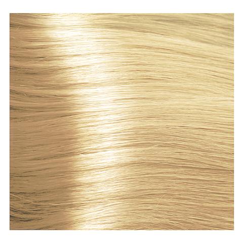 Крем краска для волос с гиалуроновой кислотой Kapous, 100 мл - HY 913  Осветляющий бежевый