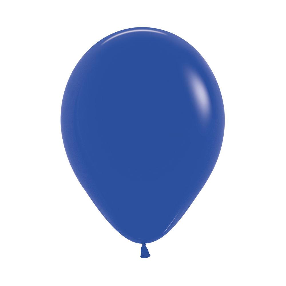 Латексный воздушный шар, цвет синий пастель
