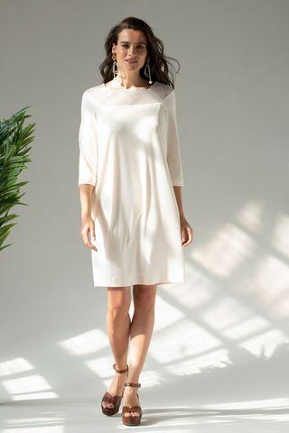 Платье 60419-1 кремовый Laete