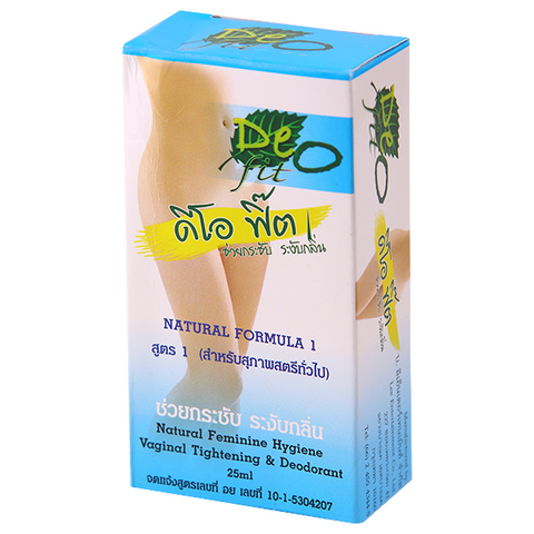 Вагинальный дезодорант с эффектом сужения