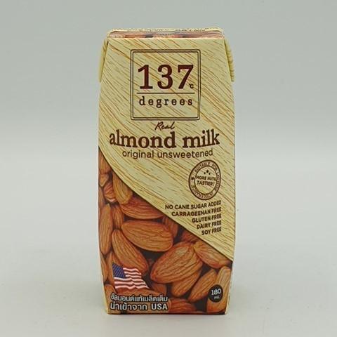 Миндальное молоко без сахара 137 degrees, 180 мл