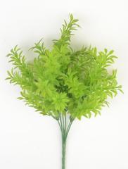 Искусственная зелень аспарагус колючий, букет 7 веток, 35 см.
