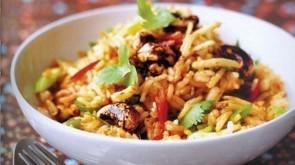 Тайский рис с орехами